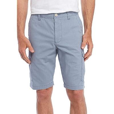 "Tommy Bahama Sandbar Ripstop 10"" Cargo Shorts (Color: Sail Fish, Size 42) | .com"
