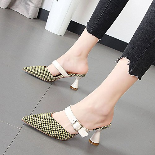 nbsp;Sandales Pantoufles Chaussons Sandales Baotou Chaussures xROtqFwtp