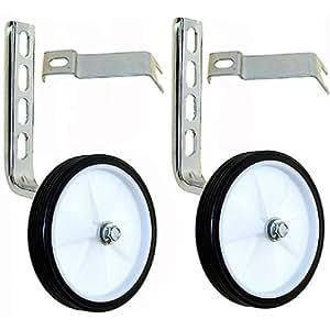 Delta - Juego de 2 ruedines de apoyo para bicicleta infantil de 12-20 pulgadas