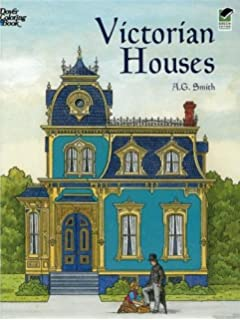 Historic Houses of New England Coloring Book (Dover History ...
