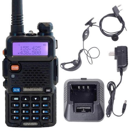 Handheld Radio Scanner 2-Way Digital Transceiver Portable, used for sale  Delivered anywhere in USA
