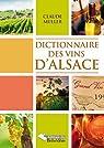 Dictionnaire des vins d'Alsace par Müller