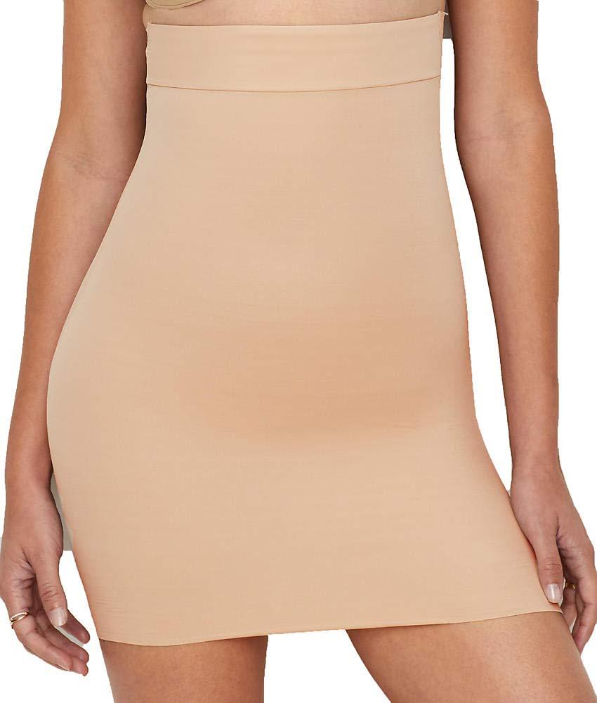 TC Fine Intimates Luxurious Comfort Firm Control Half Slip, S, Nude