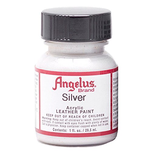 Angelus Leather Paint 1 Oz Silver