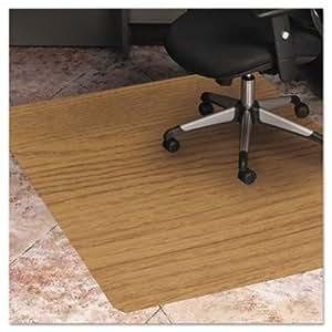 es robbins 119386 wood look chair mat for hard floors 36 x 48 natural esr119386. Black Bedroom Furniture Sets. Home Design Ideas