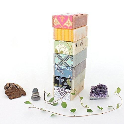 Natural Bar Soap - Set of 5 - Essential Oil Soap Set