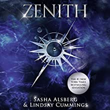Zenith Audiobook by Sasha Alsberg, Lindsay Cummings Narrated by Jane Oppenheimer, Michael Rahhal, Nicol Zanzarella
