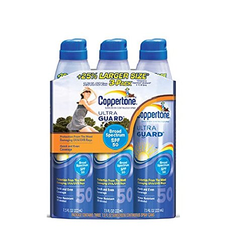 Coppertone Aerosol Sunscreen