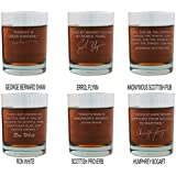 Scotch Lovers Engraved Personalized Whisky Glasses