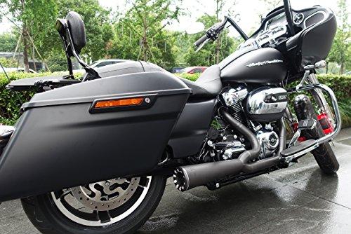 Danmoto Highwayman 2-1 Black Exhaust HM-00043