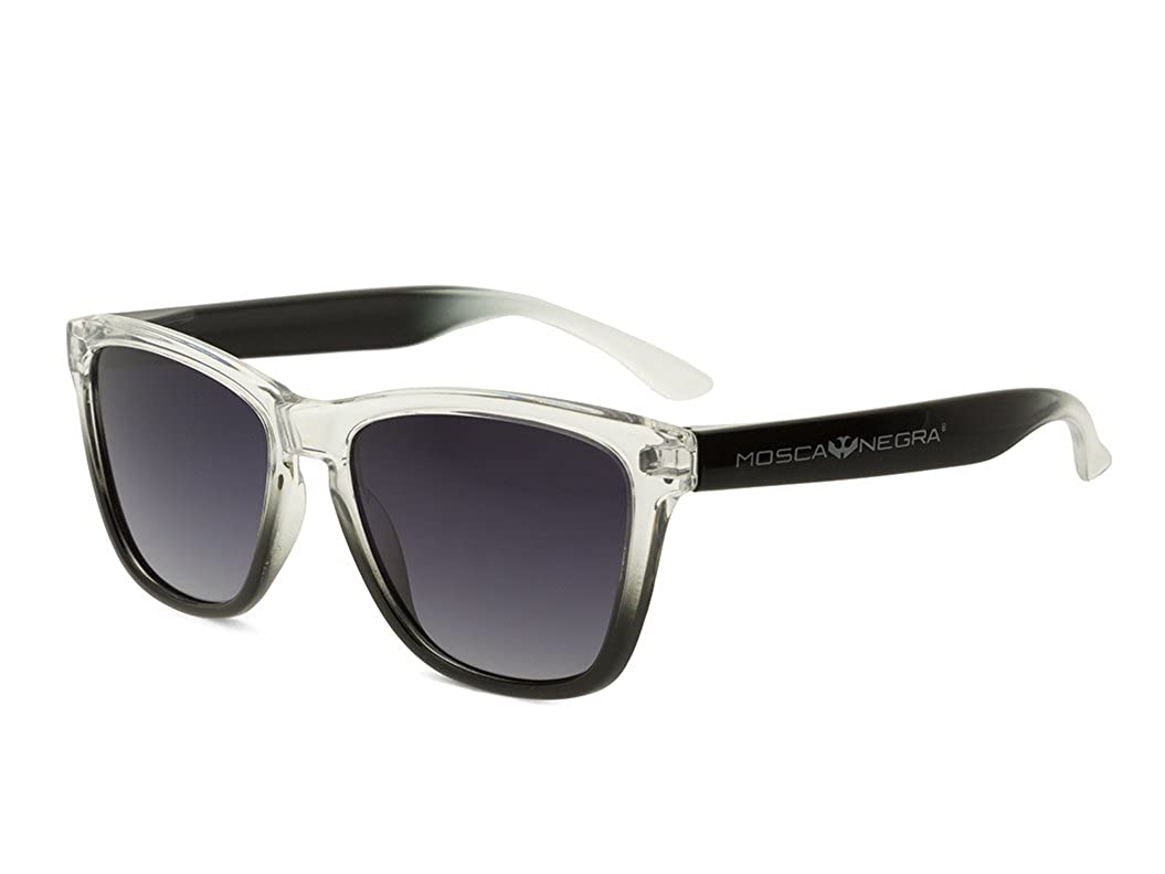 Gafas de sol MOSCA NEGRA modelo ALPHA SUNSET Black - Polarizadas
