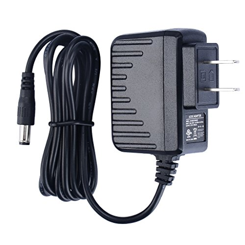 NICEYOU UL Listed 6W 120V AC to 12V DC 500mA Wall Mounted Transformer Adapter Power Supply 5.5 x 2.1mm Plug In