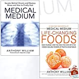 img - for Medical Medium Anthony William Collection 2 Books Bundle With Gift Journal (Medical Medium, Medical Medium Life-Changing Foods [Hardcover]) book / textbook / text book