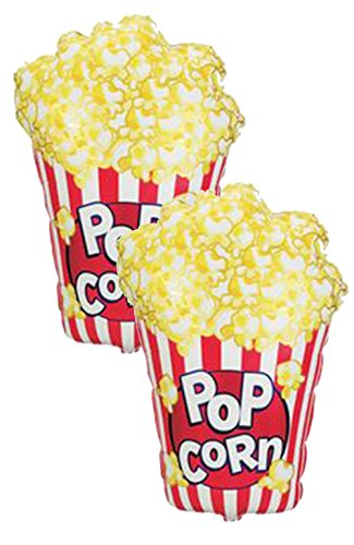 Set of 2 Jumbo 38'' Popcorn Party Balloons by Artisan Owl