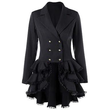 Gyoume Blazer Suit Coats Women Office Work Jacket Coats Suits