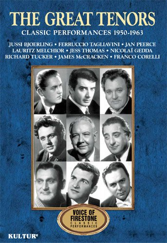 Voices of Firestone: The Great Tenors / Bjorling, Corelli, Tagliavini, - Me Ah Mobile