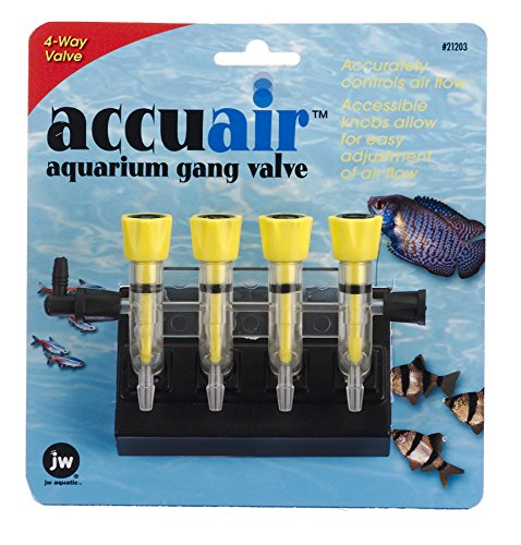 JW Pet Company Accuair 4-Way Aquarium Gang Valve