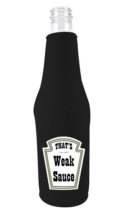 Amazon com: Coolie Junction Weak Sauce Funny Bottle Coolie