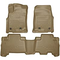 Husky Liners 99573 WeatherBeater Tan Front and 2nd Seat Floor Liner by Husky Liners
