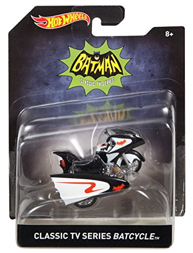 [Hot Wheels Classic TV Series Batcycle Vehicle] (V The Series Costumes)
