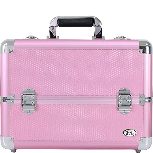 jacki-design-carrying-makeup-salon-train-case-with-expandable-trays-pink