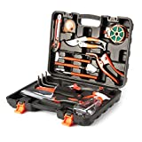 OUTAD 12-Piece Stainless Steel Garden Gardening Hand Tool Gift Set-Includes ...