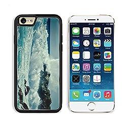 Breaking Wave Water Ocean Rock Nature Apple iPhone 6 TPU Snap Cover