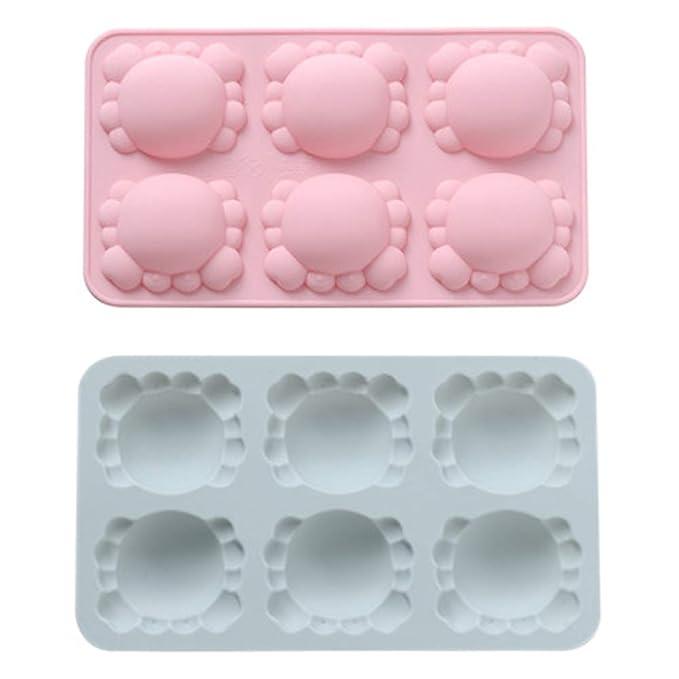 YZBear - Moldes de silicona para cubitos de hielo, diseño de ...