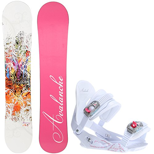 cm Womens Snowboard Serenity Bindings - Fits US Wms Boots Sized: 7,8,9,10 ()