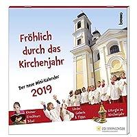 Fröhlich durch das Kirchenjahr 2019: Der neue Mini-Wandkalender