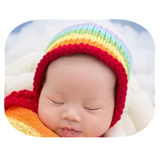 63d08dc9431 Newborn Baby Photo Props Boy Girls Blanket Backdrop Rainbow Wrap Cloth  Photo Shoot Outfits Baby Photography