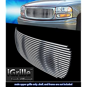 Stainless Steel eGrille Billet Grille Grill For 00-06 GMC Yukon/Yukon Denali/99-02 Sierra