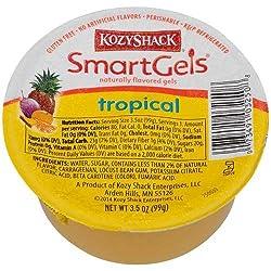 Kozy Shack Tropical Smartgels, 3.5 Ounce -- 48 Per Case.