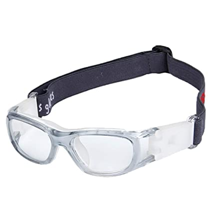 f237e7c022 EnzoDate Niños anteojos de Baloncesto para Boys & Girls, Transparente  Teenage anteojos Deportivas, fútbol