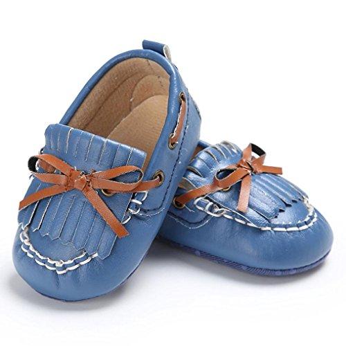 289672de2d3 Voberry Baby Toddler Girl Boys  Leather Slip-On Loafers Tassel ...
