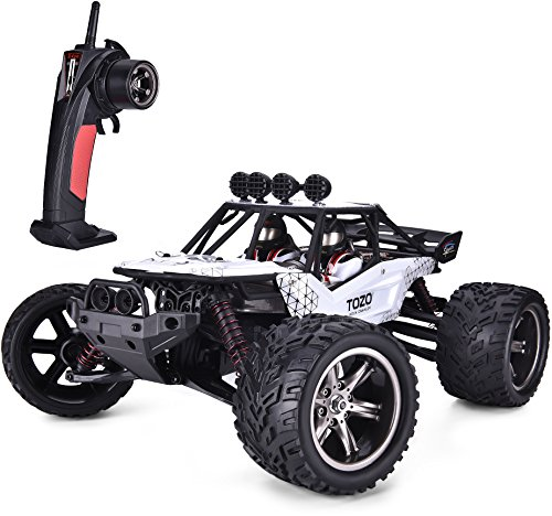 TOZO C2035 RC CARS High Speed 30MPH 1/12 Scale RTR Remote control Brushed Monster Truck Off road Car Big Foot RC 2WD ELECTRIC POWER BUGGY W/2.4G Challenger - Rtr Trucks Control Remote