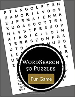 Book Word Search 50 Puzzles Fun Game: Word find large print puzzles games books: Volume 1
