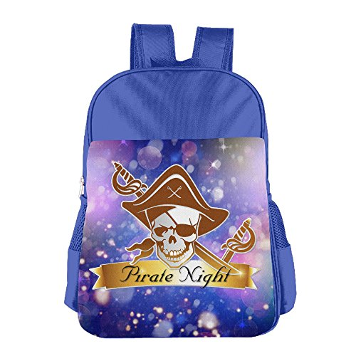 Unique Boys Girls Toddler Multipurpose School Bag, Pirates Of The Caribbean RoyalBlue