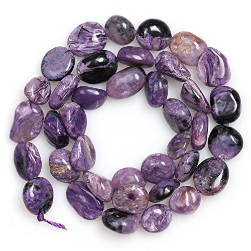 Natural 9x12mm Purple Dargon Jasper Gemstone Loose Beads In Bulk For Jewelry Making Strand - Purple Jasper
