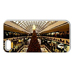 Galleria Houston - Case Cover for iPhone 5 and 5S (Watercolor style, White)