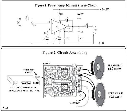 Tba820m-TBA 820m Integrated Audio Amplifier 2w