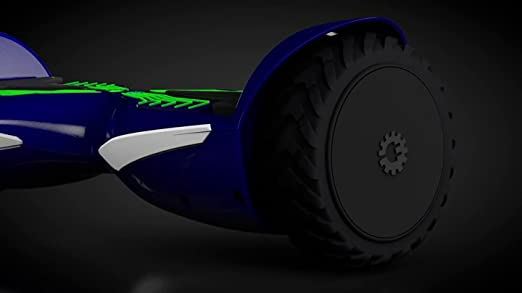 Jetson Electric Bike V12 Electra-Light Hoverboard Self-Balancing Electric Scooter with Powerful 500W Motor, LED Lights and UL Certified Safe Battery