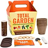 Sproutbrite Vegetable Garden Seed Starter Kit - Grow 5 Veggies from Seed - A Complete Gardening kit for Growing Indoors Or Outdoors
