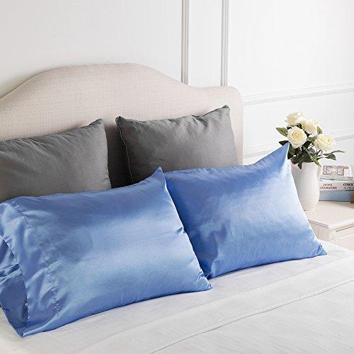 Luxury Silk Satin Pillowcase Skin and Hair Beauty Sateen Pil