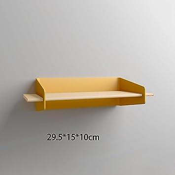 Fesselnd DZW Wanddekoration Nordic Kreative Wandregal Moderne Einfache Eisenwand  Partition Wohnzimmer Küche Regal, Gelb / Blau
