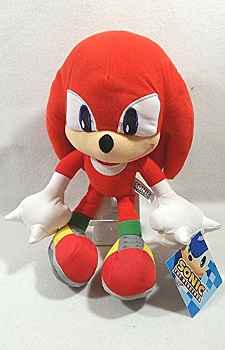 Official Sonic the Hedgehog Knuckles Plush Soft Toys - 10
