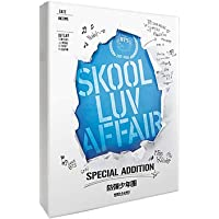 BTS Skool Luv Affair Special Addition Album CD+2 DVDs+Photobook+Photocard+(Extra BTS 6 Photocards+1 Double-Sided…
