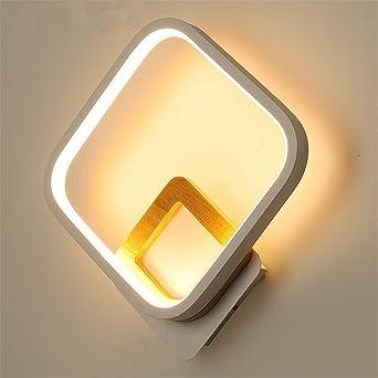 Creative Style - Lámpara de pared para dormitorio, luz blanca, aplique pasillo, escalera, lámpara de pared industrial: Amazon.es: Iluminación