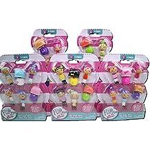 Flipzee girls mini babies series 1 pack of four!(Dolls vary)