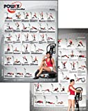Complete Whole Body Vibration Training Charts , 60 Exercises Complete with 'New' Training Recommendation Insert. Vibration Training for Strength , Tone, Stretch and Massage.